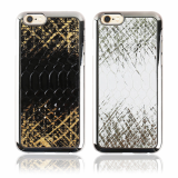 Real Skin Python Natural Leather Backcover Cell Phone Case